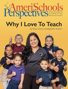 AmeriSchools Perspectives Magazine Fall 2019 cover