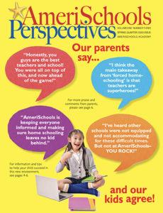 AmeriSchools Perspectives Magazine Spring 2020 Cover